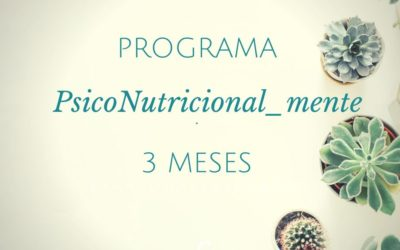 PROGRAMA PSICOnutricional_mente